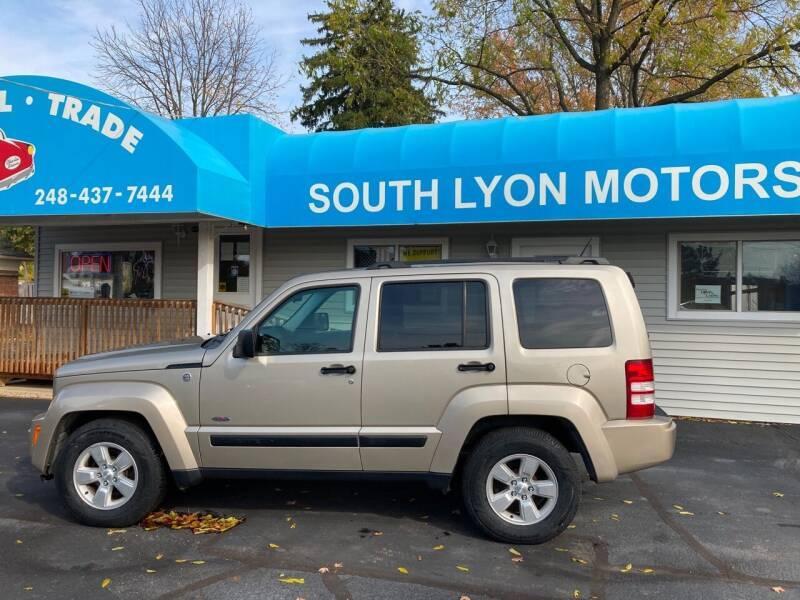 2010 Jeep Liberty for sale at South Lyon Motors INC in South Lyon MI