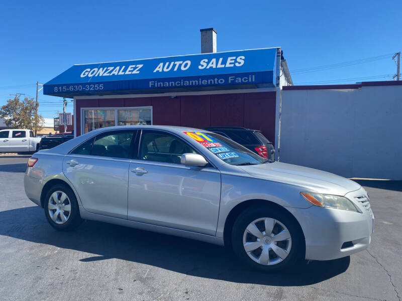 2007 Toyota Camry for sale at Gonzalez Auto Sales in Joliet IL
