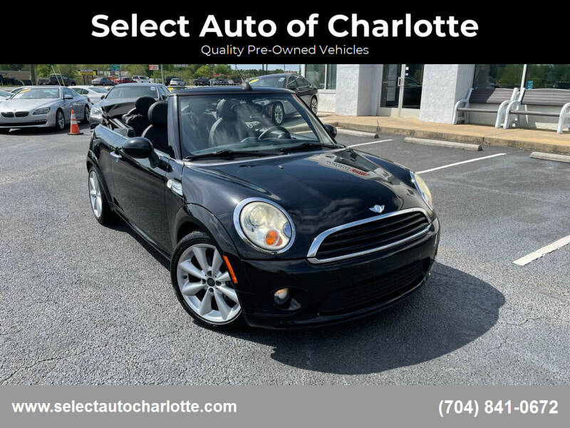 2011 MINI Cooper for sale at Select Auto of Charlotte in Matthews NC