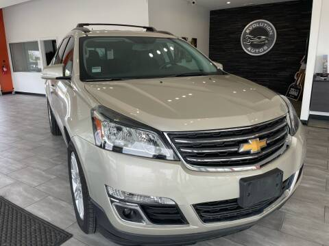 2014 Chevrolet Traverse for sale at Evolution Autos in Whiteland IN
