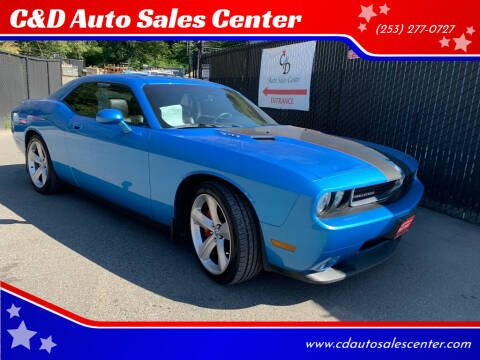 2010 Dodge Challenger for sale at C&D Auto Sales Center in Kent WA
