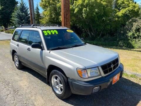2000 Subaru Forester for sale at Signature Auto Sales in Bremerton WA