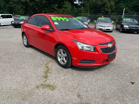 2014 Chevrolet Cruze for sale at Super Wheels-N-Deals in Memphis TN