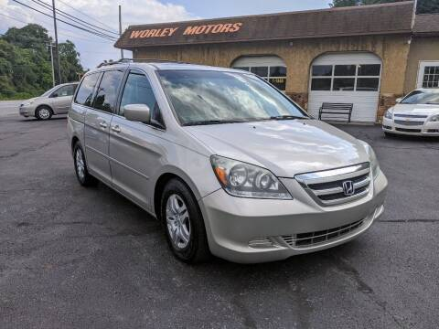2007 Honda Odyssey for sale at Worley Motors in Enola PA