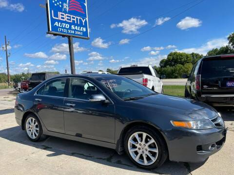 2006 Acura TSX for sale at Liberty Auto Sales in Merrill IA