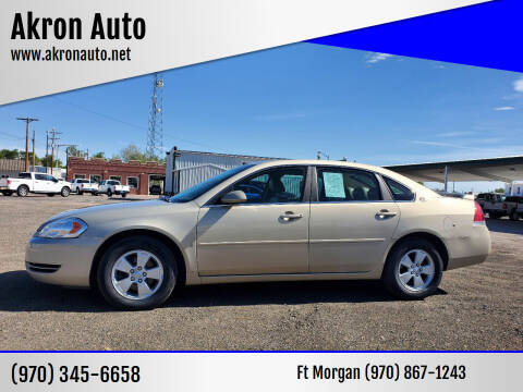 2008 Chevrolet Impala for sale at Akron Auto in Akron CO