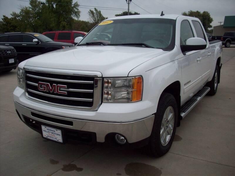 2012 GMC Sierra 1500 for sale at Nemaha Valley Motors in Seneca KS