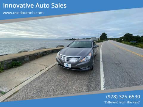 2013 Hyundai Sonata for sale at Innovative Auto Sales in North Hampton NH
