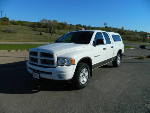 2004 Dodge Ram Pickup 1500 for sale at Dick Nelson Sales & Leasing in Valley City ND