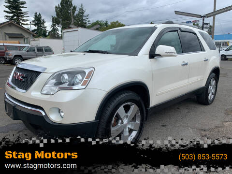 2012 GMC Acadia for sale at Stag Motors in Portland OR