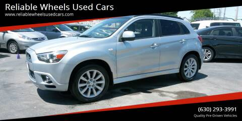 2011 Mitsubishi Outlander Sport for sale at Reliable Wheels Used Cars in West Chicago IL