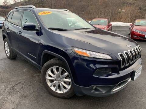 2015 Jeep Cherokee for sale at Bob Karl's Sales & Service in Troy NY