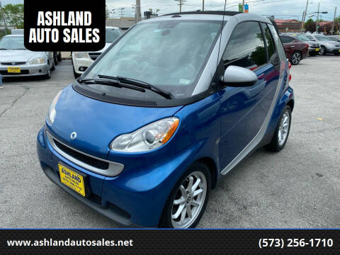 2009 Smart fortwo for sale at ASHLAND AUTO SALES in Columbia MO