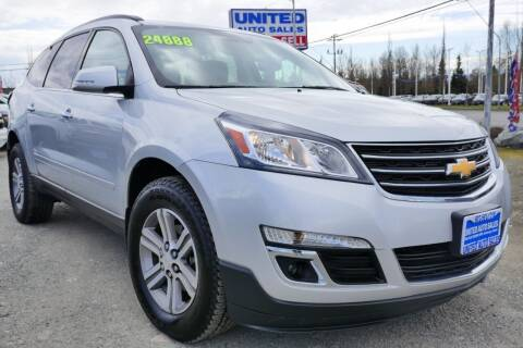 2016 Chevrolet Traverse for sale at United Auto Sales in Anchorage AK