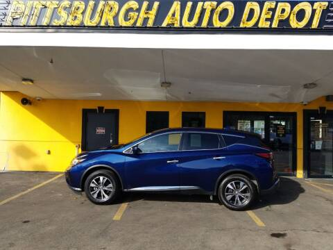 2019 Nissan Murano for sale at Pittsburgh Auto Depot in Pittsburgh PA