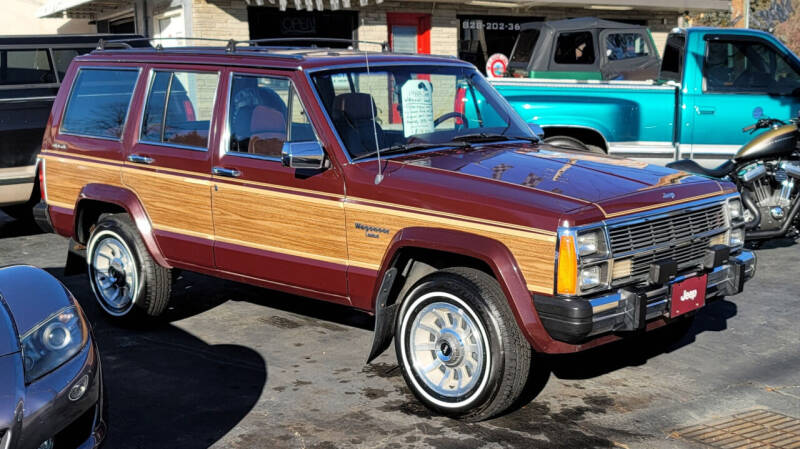 1988 Jeep Wagoneer for sale at Rare Exotic Vehicles in Weaverville NC