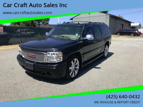 2006 GMC Yukon XL for sale at Car Craft Auto Sales Inc in Lynnwood WA