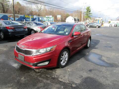 2012 Kia Optima for sale at Route 12 Auto Sales in Leominster MA