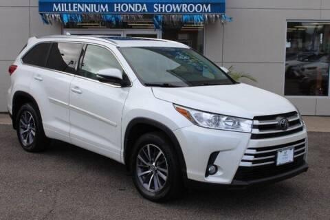 2018 Toyota Highlander for sale at MILLENNIUM HONDA in Hempstead NY
