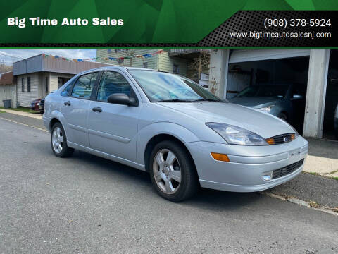2004 Ford Focus for sale at Big Time Auto Sales in Vauxhall NJ