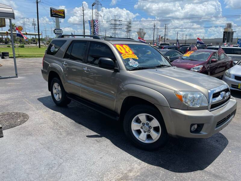2008 Toyota 4Runner for sale at Texas 1 Auto Finance in Kemah TX