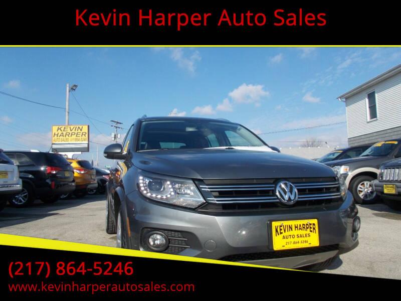 2013 Volkswagen Tiguan for sale at Kevin Harper Auto Sales in Mount Zion IL