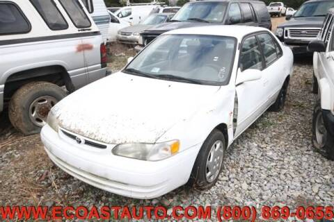 2000 Toyota Corolla for sale at East Coast Auto Source Inc. in Bedford VA