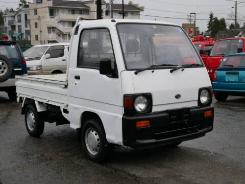 1992 Subaru Sambar 4WD for sale at JDM Car & Motorcycle LLC in Seattle WA