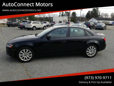 2014 Audi A4 for sale at AutoConnect Motors in Kenvil NJ