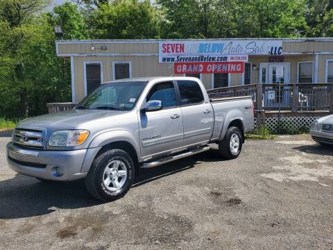 2006 Toyota Tundra for sale at Seven and Below Auto Sales, LLC in Rockville MD