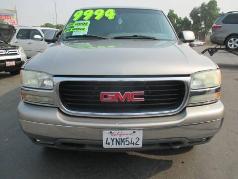 2002 GMC Yukon XL for sale at Quick Auto Sales in Modesto CA