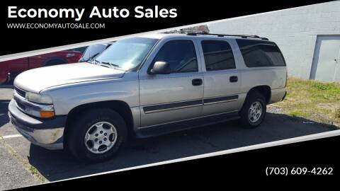 2004 Chevrolet Suburban for sale at Economy Auto Sales in Dumfries VA