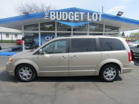 2008 Chrysler Town and Country for sale at THE BUDGET LOT in Detroit MI