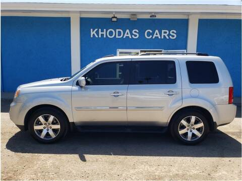 2013 Honda Pilot for sale at Khodas Cars in Gilroy CA