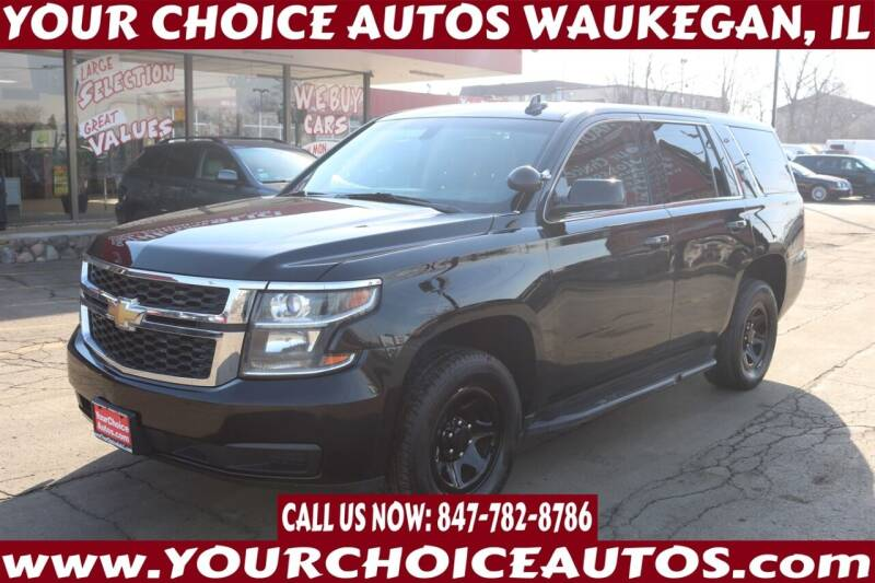 2015 Chevrolet Tahoe for sale at Your Choice Autos - Waukegan in Waukegan IL