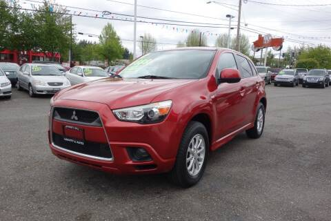 2012 Mitsubishi Outlander Sport for sale at Leavitt Auto Sales and Used Car City in Everett WA