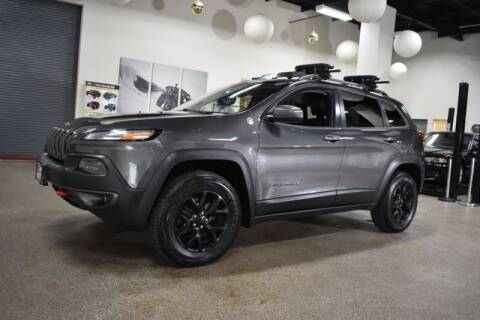 2014 Jeep Cherokee for sale at DONE DEAL MOTORS in Canton MA