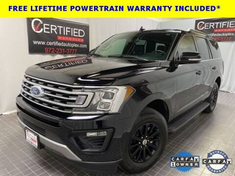 2020 Ford Expedition for sale at CERTIFIED AUTOPLEX INC in Dallas TX