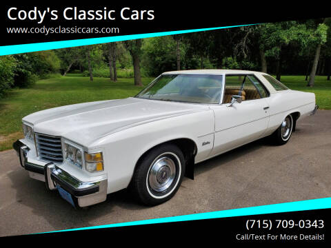 1976 Pontiac Catalina for sale at Cody's Classic Cars in Stanley WI