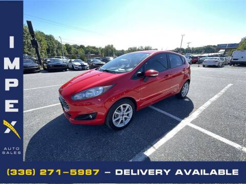 2015 Ford Fiesta for sale at Impex Auto Sales in Greensboro NC