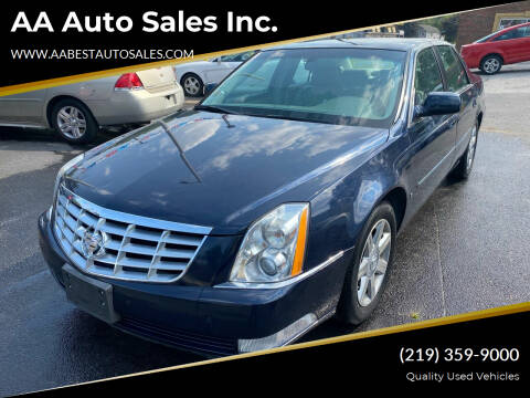 2006 Cadillac DTS for sale at AA Auto Sales Inc. in Gary IN