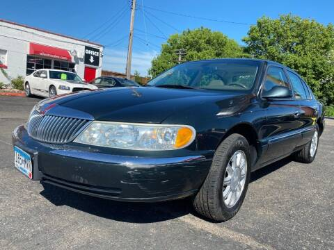 2002 Lincoln Continental for sale at Auto Tech Car Sales and Leasing in Saint Paul MN