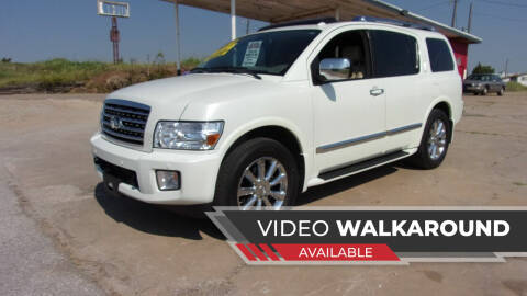 2010 Infiniti QX56 for sale at 6 D's Auto Sales MANNFORD in Mannford OK
