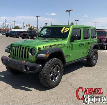 2019 Jeep Wrangler Unlimited for sale at Carmel Motors in Indianapolis IN