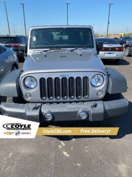 2017 Jeep Wrangler Unlimited for sale at COYLE GM - COYLE NISSAN in Clarksville IN