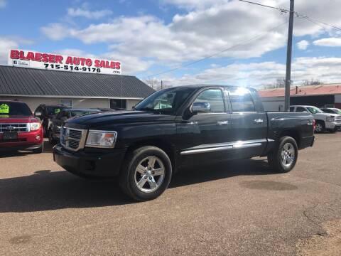 2008 Dodge Dakota for sale at BLAESER AUTO LLC in Chippewa Falls WI
