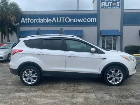 2014 Ford Escape for sale at Affordable Autos in Houma LA