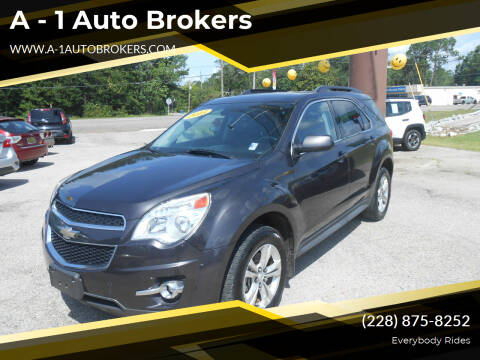 2015 Chevrolet Equinox for sale at A - 1 Auto Brokers in Ocean Springs MS
