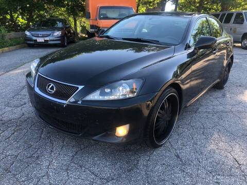 2007 Lexus IS 250 for sale at Welcome Motors LLC in Haverhill MA