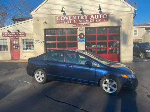2008 Honda Civic for sale at COVENTRY AUTO SALES in Coventry CT